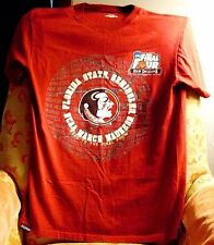 "FLA STATE SEMINOLES ""NCAA MARCH MADNESS,2012 FINAL 4""T-SHIRT>M>NEW>FREE U.S.SHIP"