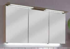 Puris Badmöbel > LED Spiegelschrank > FRESH 05 - Eiche hell  120 cm NEU