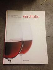LIBRO VINI D'ITALIA L'ENCICLOPEDIA DELLA CUCINA ITALIANA 15 MONDADORI 2007