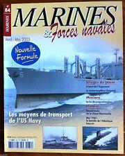Marines & Forces navales n°84; Les moyens de transport de l'US navy/ L'Argonaute