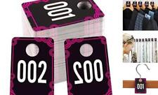 "Live Number Tags, 1.7""x 2.5"" Live Number Card 001-100"