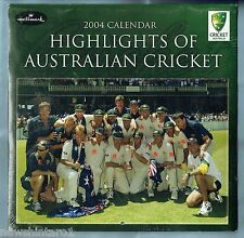 #T100. 2004 CALENDAR - HIGHLIGHTS OF AUSTRALIAN CRICKET