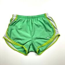 Nike Dri-Fit Brief-Lined Running Shorts Green Size XS *Flaw