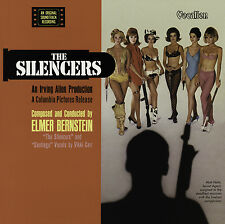 Elmer Bernstein - The Silencers (1966) Film Soundtrack - CD reissue