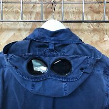 C.P. Company, Garment Dyed, Lightweight Goggle Jacket/Overshirt S SMALL 46 CP