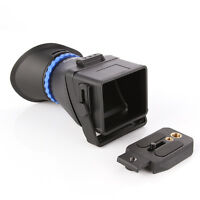 """Universal 3.0X LCD Viewfinder For 3"""" 3.2"""" Screen f CANON Nikon Sony Camera"""