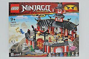 Lego 70670 - NINJAGO Kloster des Spinjitzu NEU/OVP