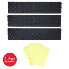 UPP Gummi-Stufenmatten 3er Set Antirutsch Matten Streifen für Treppenstufen