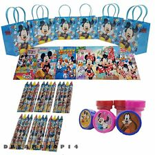 Disney Mickey Party Favor Set - 6 sets (42 Pcs) Birthday party goodie gift bags
