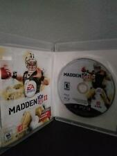 Enloquecer NFL 11 Sony Playstation 3 Ps3 Original Cib Completo Funda Manual S12