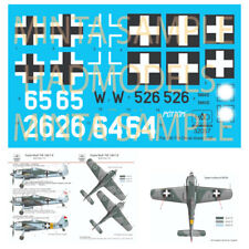 HAD Decals for 1/32 Focke Wulf FW-190 F-8 (white 64/65, W526)