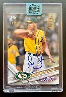 2018 Topps Archives Signature SEAN DOOLITTLE Autograph Baseball Card SP /99