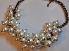 Statement Kette mit Perlen von Zara