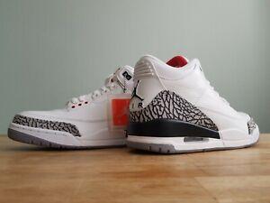 Nike Air Jordan 3 Retro III White/Cement 2011 I IV XI off US 10,5 Neu