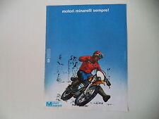 advertising Pubblicità 1975 MOTORI MINARELLI SEMPRE