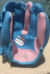 "Hello Kitty 9"" Blue/Pink Franklin Softball glove"