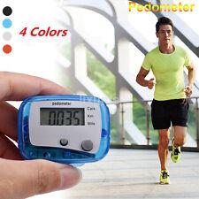 Practical Digital LCD Run Step Mini Pedometer Calorie Walking Distance Counter