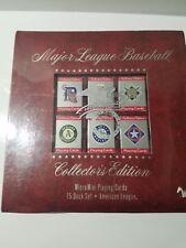 MAJOR LEAGUE BASEBALL MICRO MINI PLAYING CARDS 15 DECK  SET AMERICAN LEAGUE LE