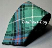 NECK TIE TARTAN MACDONALD OF THE ISLES ANCIENT 100% PURE WOOL MADE IN SCOTLAND
