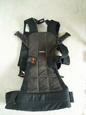 BabyBjörn 100% Cotton Baby WE Carrier Black BEST carrier! ExUC. Machine Washable
