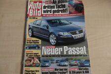 1) Auto Bild 18/2003 - Opel Signum 3.2 V6 mit 211P - Honda Accord Tourer 2.0 mit