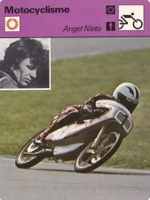 MOTO carte fiche photo ANGEL NIETO