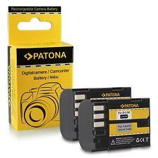 offerta 2 batterie D-Li90 DLi90 per Pentax 645D, K-5, K-7 patona spedizione gls