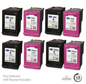 Remanufactured HP 304 & 304XL Ink Cartridges For HP AMP Printers