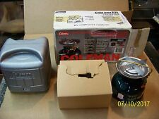 COLEMAN STOVE MODEL 500A DATED 4/92 CASE, BOX & INSTRUCTIONS NEW OLD STOCK