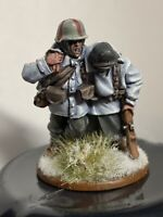 1 Warlord Games Bolt Action German Heer Medic + casualty well painted and based