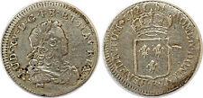 LOUIS XV  1/3 écu de France 1721 Rouen G.306 flan neuf