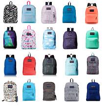JANSPORT SUPERBREAK BACKPACK 100% AUTHENTIC SCHOOL BAG BLACK,RED,GREY,BLUE,WHITE