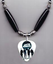 Arctic Monkeys Band Photo Guitar Pick Necklace - #4