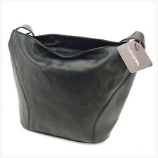 Lancel Shoulder bag Black Gold Woman unisex Authentic Used F1180