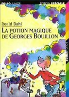 Potion Magique De Georges Bouillon Libro en Rústica Roald Dahl