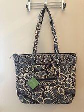 New w/ tags Vera Bradley Villager Slate Blooms Tote Handbag