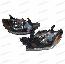 1Pair Front Head lamp Headlights For Mitsubishi Outlander 2003-2006