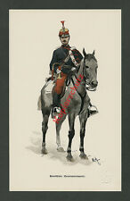 F. Myrbach K.u.K. Honved-Husar Escadrontrompeter Pferd Uniform Wappen Adel 1888
