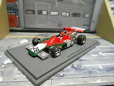F1 ISO Williams IR Ford Cosworth 1973 #26 Van Lennep Dutch GP Marlb Spark 1:43
