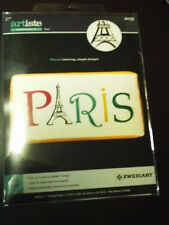 ARTISTE~EMBROIDERY~PARIS DESIGN KIT~13.55 X 5.8 INCHES ~NEW~THE EIFFEL TOWER!!