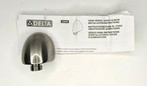 Delta 50560-ss Hand Shower Wall Supply Elbow - Brilliance Stainless