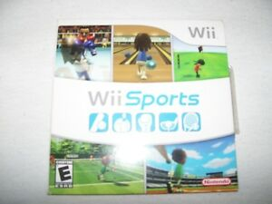 Wii Sports (2006) Nintendo Wii Classic Game Good Condition Complete W Manual