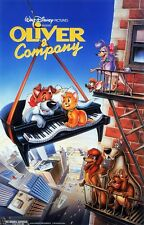 Walt Disney's Oliver & Company movie poster  : 11 x 17 inches