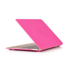 """Hard Plastic Case Cover Shell For MacBook 12"""" inch with Retina A1534 2017 2016"""