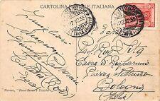 """C2781) ANN. """"CATTAVIA (RODI EGEO) R.R. POSTE ITALIANE 22/12/33"""" SU 20c PITTORICA"""