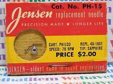 JENSEN / PH-15 / REPLACES PHILCO 45-1615 / 1 PIECE (qzty)