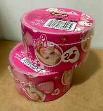Two Rolls of 3M Scotch Duct Tape, Glamtastic Barbie Design, Brand New