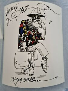 Ralph Steadman Signed Vintage Dr. Gonzo Free Next Day Secure Delivery