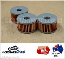 Oil Filters for Suzuki DR650 DR600 DR500 DR 650 Triple Pack Filter 600 500