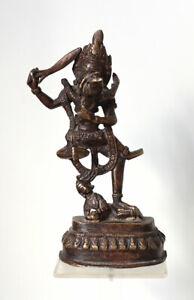 Antique NEPAL Yab-Yum figure, copper alloy, around 1900